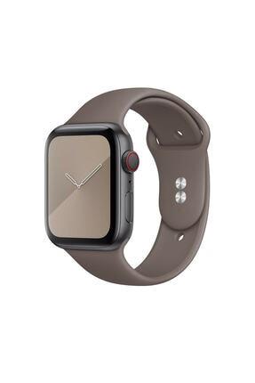Bilişim Aksesuar S/m Beden Apple Watch 2 3 4 5 6 Uyumlu Se 42 Mm 44 Mm Spor Sililkon Kordon
