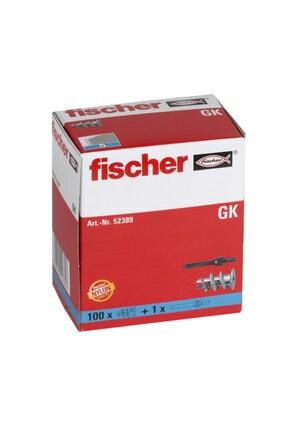 Fischer Alçıpan Plastik Dübeli 100ad. Gk