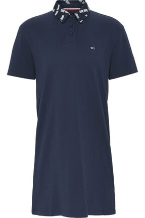 Tommy Hilfiger Tjw Branded Collar Polo Elbise