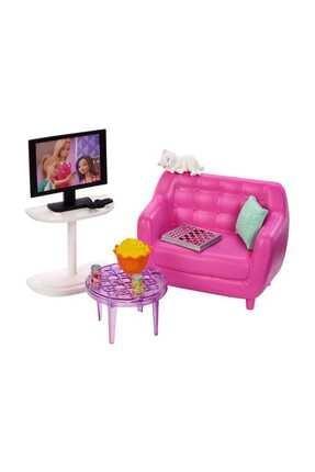 Barbie nin Ev İçi Dekorasyon Aksesuarları FXG33-FXG36