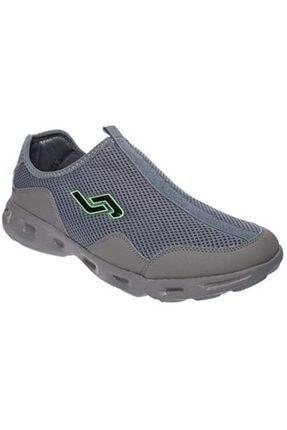 Jump Erkek Gri Bağcıksız Anatomik Hafif Spor ve Koşu Ayakkabısı 21222