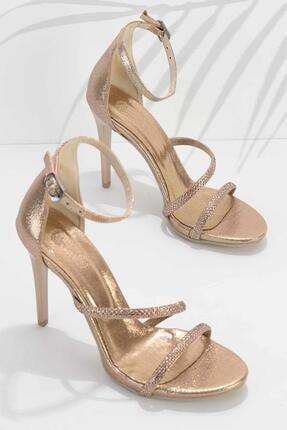 Bambi Rose Kadın Abiye Ayakkabı K01527250736