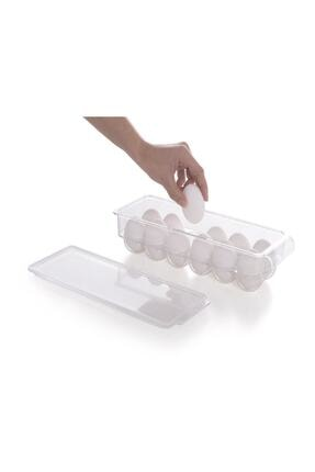 Prima Nova Kapaklı Yumurta Saklama Kabı Şeffaf