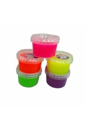 Crazy Fosforlu 5'li Hazır Slime-slaym Büyük Kutu 200 gr.hsx