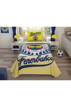 Taç Fenerbahçe Yellow Tek Kişilik Pike Takımı