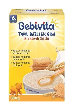 Bebivita Sütlü Bisküvili Ek Gıda 300 gr