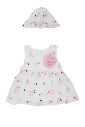 Pattaya Kids Kız Bebek Şapkalı Kolsuz Elbise 3-18 Ay Pb21s506-2104