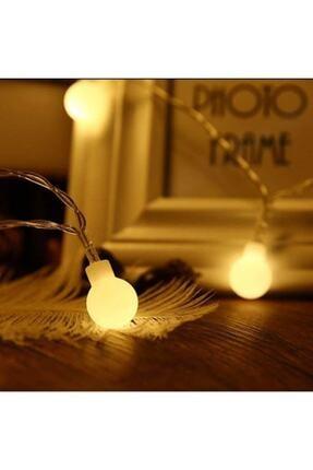 Lambax Pilli 3 Metre Günışığı Dekoratif Mini Ledli Top Süs Ip Led Işık Aydınlatma