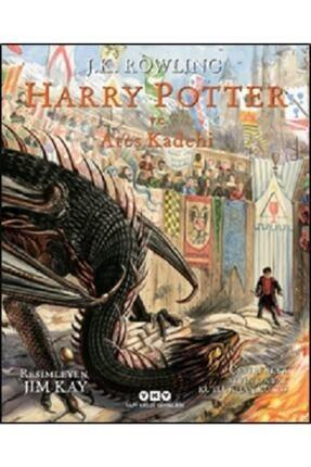 Yapı Kredi Yayınları Kültür Harry Potter Ve Ateş Kadehi -4 (ciltli , Resimli Özel Baskı)