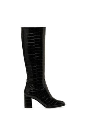 Nine West MASSA Siyah Kadın Ökçeli Çizme 100579411