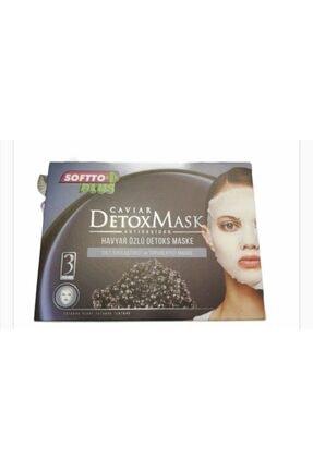 Softo Plus Havyar Özlü Detoks Maske Sıklaştırıcı