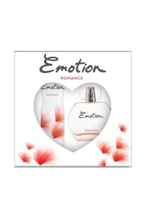 Emotion Romance Edt 50 ml Kadın Parfüm + Deodorant 150 ml Seti TYV0000ER50