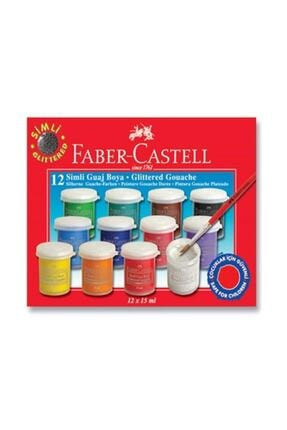Faber Castell Faber Guaj Boya Simli 12 Li 160404 /