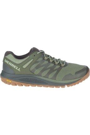 Merrell Erkek Yeşil Bağcıklı Spor Ayakkabısı