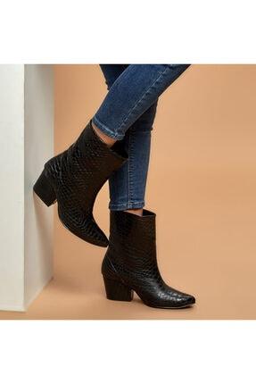 Butigo DAVİS Siyah Kadın Çizme 100527333