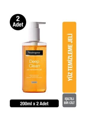 Neutrogena Deep Clean Yüz Temizleme Jeli 200 ml x2