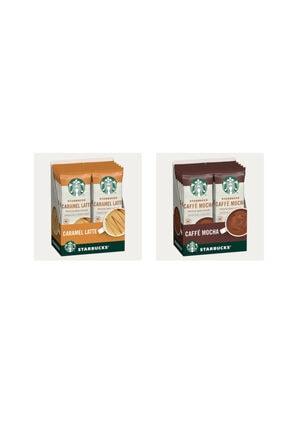 Starbucks Tatlı Krizi Serisi Premium Kahve Karışımı Seti (caramel Latte-caffe Mocha)