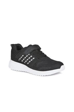 Vicco Sharp Unisex Çocuk Siyah Spor Ayakkabı