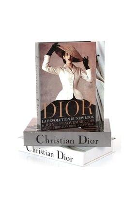 DE HOME Dior Şapkalı Kadın Dekoratif Kitap Kutu