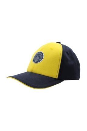 Fenerbahçe Çocuk Tek Renk Logo Şapka