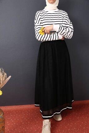 Loreen Tüllü Etek - Siyah