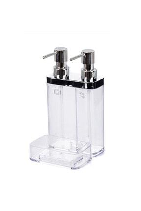 Prima Nova Beyaz M-e10-16 Sıvı Sabunluk 2lı