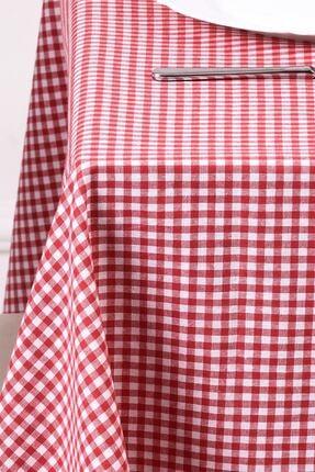 Moda Perde Küçük Kare Desen Pötikareli Masa Örtüsü, Sofra Bezi, Piknik Örtüsü
