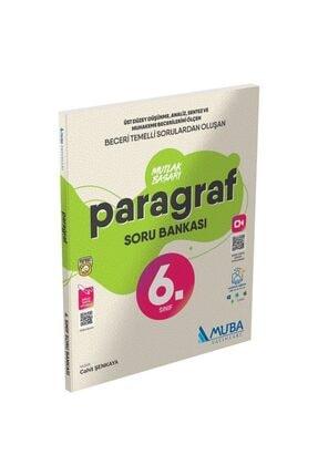 Muba Yayınları Muba 6. Sınıf Paragraf Mutlak Başarı Soru Bankası