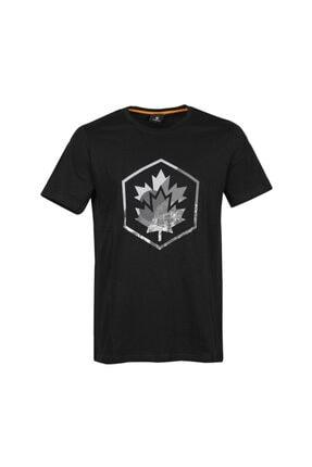 lumberjack CT636 COLORED LOGO T-SHIR Siyah Erkek T-Shirt 101028327