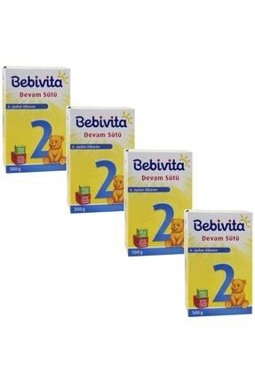 Bebivita 2 Devam Sütü 500 gr 4'lü Paket
