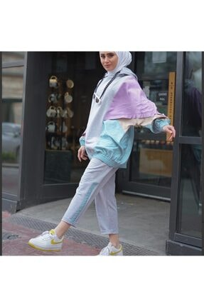 Melike Tatar Kadın Gri Eşofman Takımı