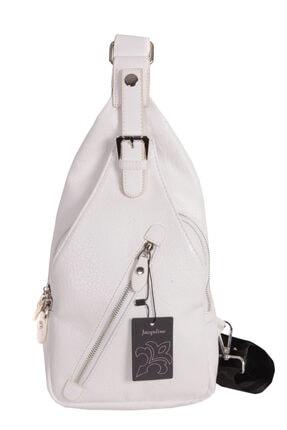 Jacquline Beyaz Çanta