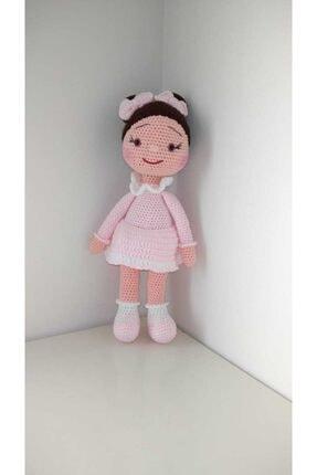 Enjoy Toys Organik El Örgüsü Amigurami Sevimli Bebek 35 Cm.
