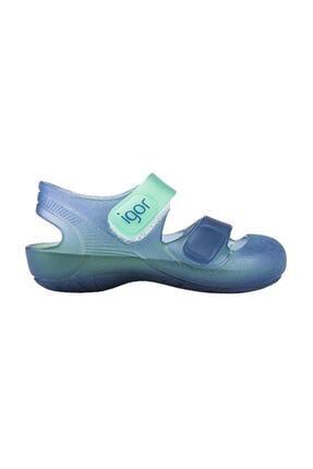 IGOR Bondi Bicolor Mavi Yeşil Unisex Çocuk Sandalet 100346407