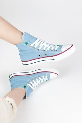 Gökhan Talay Kadın Şeffaf Taban Detaylı Spor Sneaker