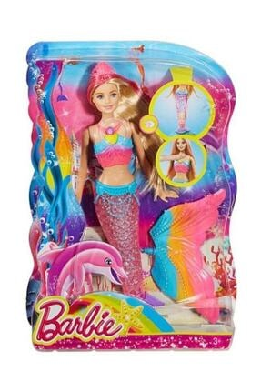 Barbie Işıltılı Gökkuşağı Denizkızı Oyuncak Bebek