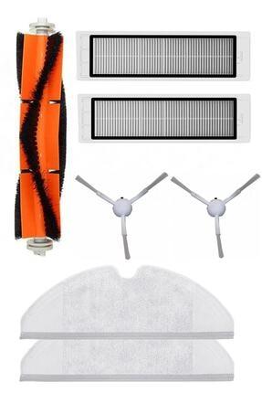 Robovac Roborge Mi Mijia 1c Robot Vacuum Mop Yenileme Seti (7 Parça)