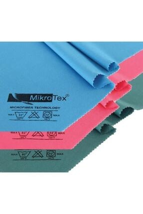 Mikrotex Mikrofiber Cam Bezi 6 Adet Çok Renkli 40 X 50 Cm