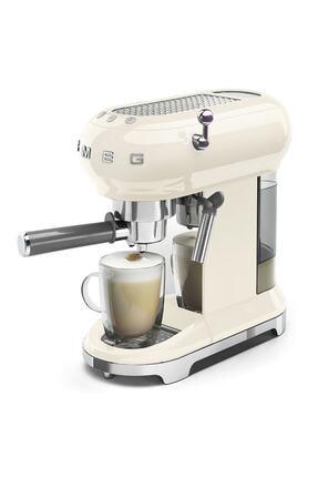 SMEG Krem Espresso Makinesi Ecf01creu