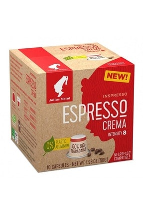Julius Meinl Espresso Crema Nespresso Uyumlu Kapsül Kahve 10 Adet