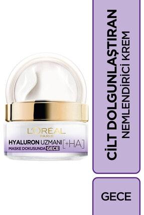 L'Oreal Paris Hyaluron Uzmanı Cilt Dolgunlaştıran Nemlendirici Gece Kremi- Hyaluronik Asit