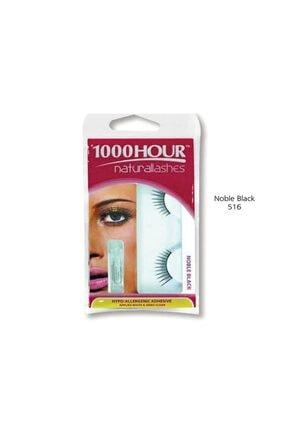 1000Hour Doğal Takma Kirpik - Noble Black 9313312075163