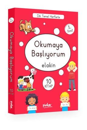 Pinokyo Yayınları Pinokyo 1. Sınıf Okumaya Başlıyorum 10 Kitap Set Elakin