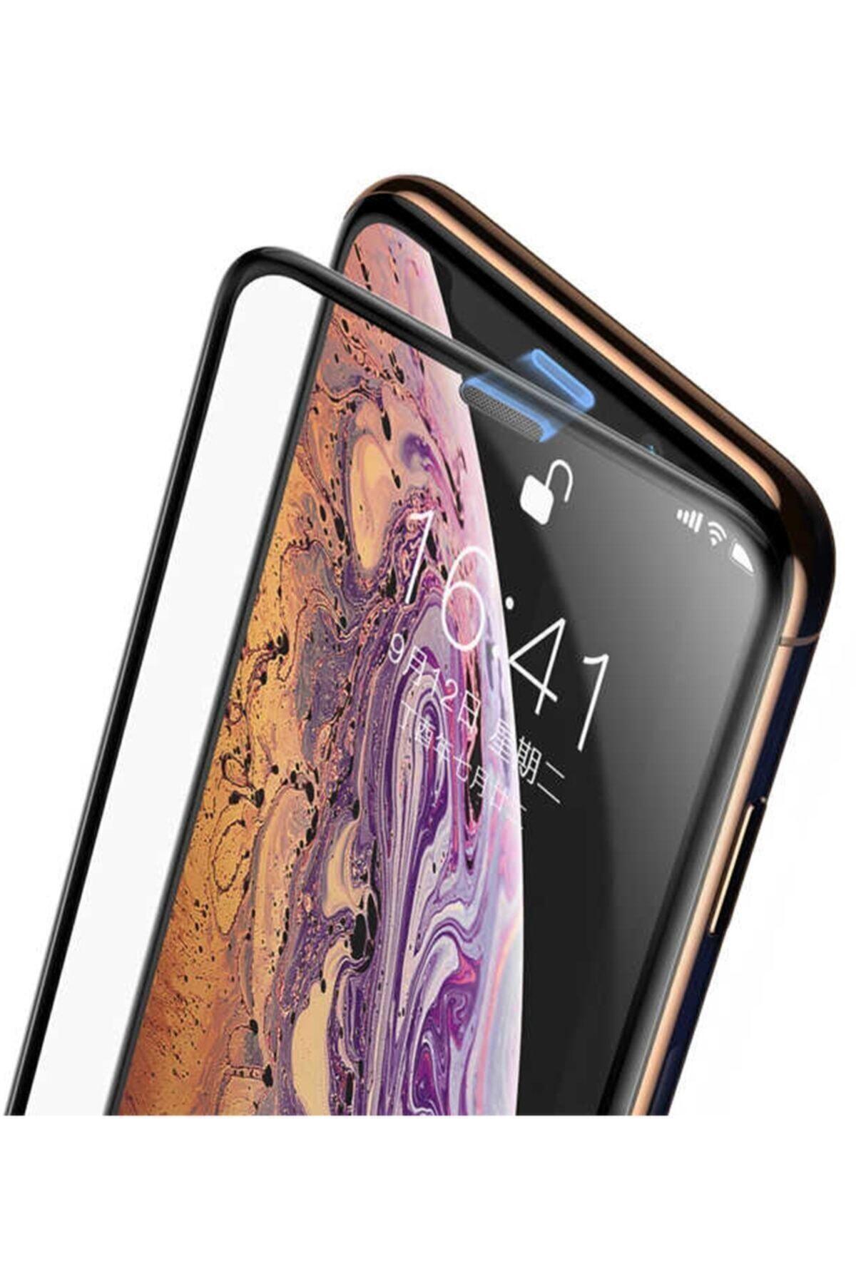 dijimedia Iphone 11 Kırılmaz Cam Tam Kaplayan Mikrofon Kısmı Metal Ekran Koruyucu 1