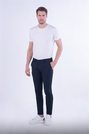 Efor Slim Fit Lacivert Spor Pantolon
