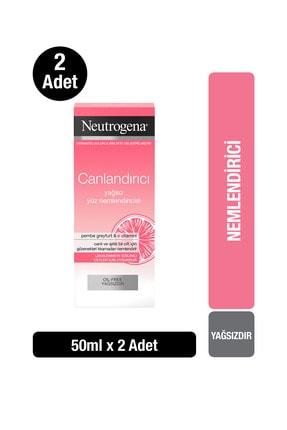 Neutrogena Visibly Clear Pembe Greyfurt Yağsız Nemlendirici 50 ml x2