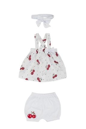 Pattaya Kids Kız Bebek Şortlu Bluz 2'li Takım
