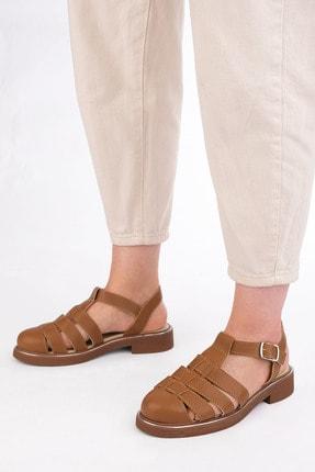 Marjin Kadın Taba Sandalet
