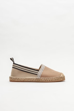 Elle Shoes Vizon Kadın Espadril