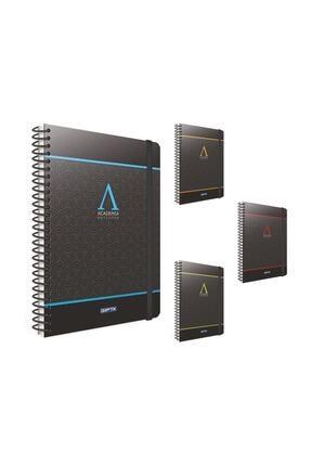 Gıpta Academia 17x24 Cm 120 Yaprak Kareli Notebook